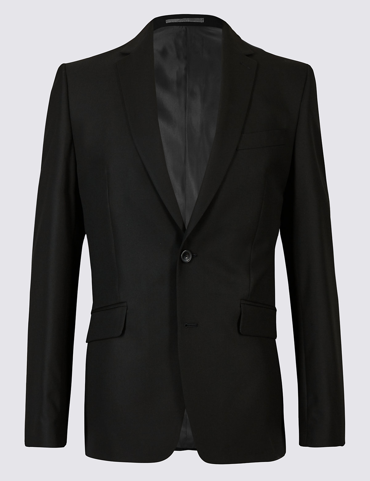 Marks & Spencer Black Slim Fit Jacket