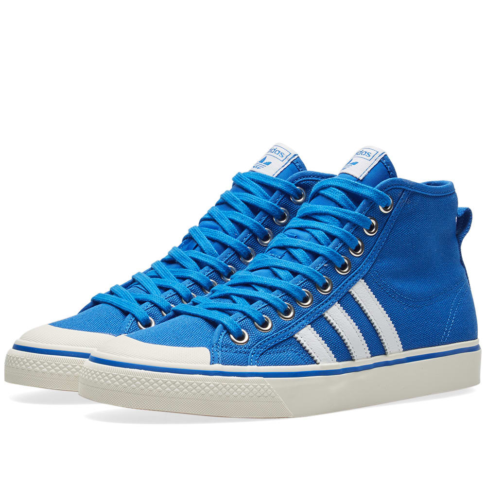 Adidas Blue & Off White Nizza Hi