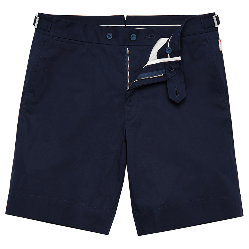 Orlebar Brown NORWICH Deepest Blue Tailored-Fit Shorts