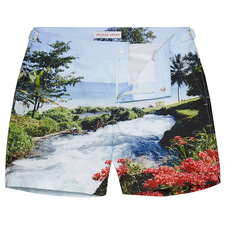 Orlebar Brown BULLDOG Sea Side Rapids Mid-Length Tailored Swim Short