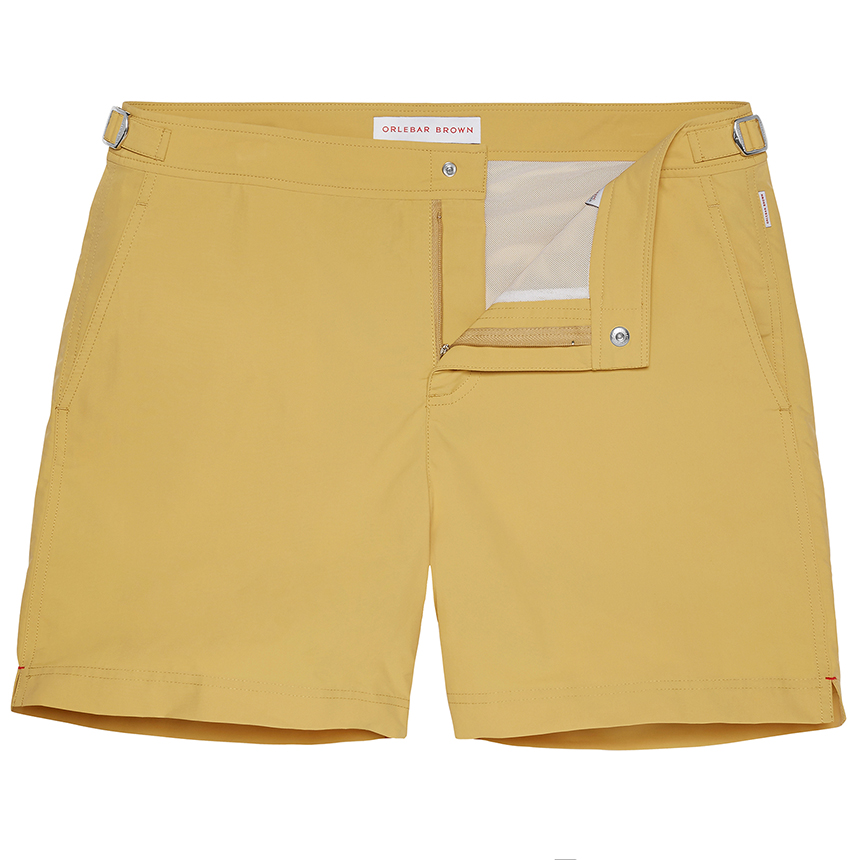 Orlebar Brown BULLDOG Fawn Mid-Length Tailored Swim Short
