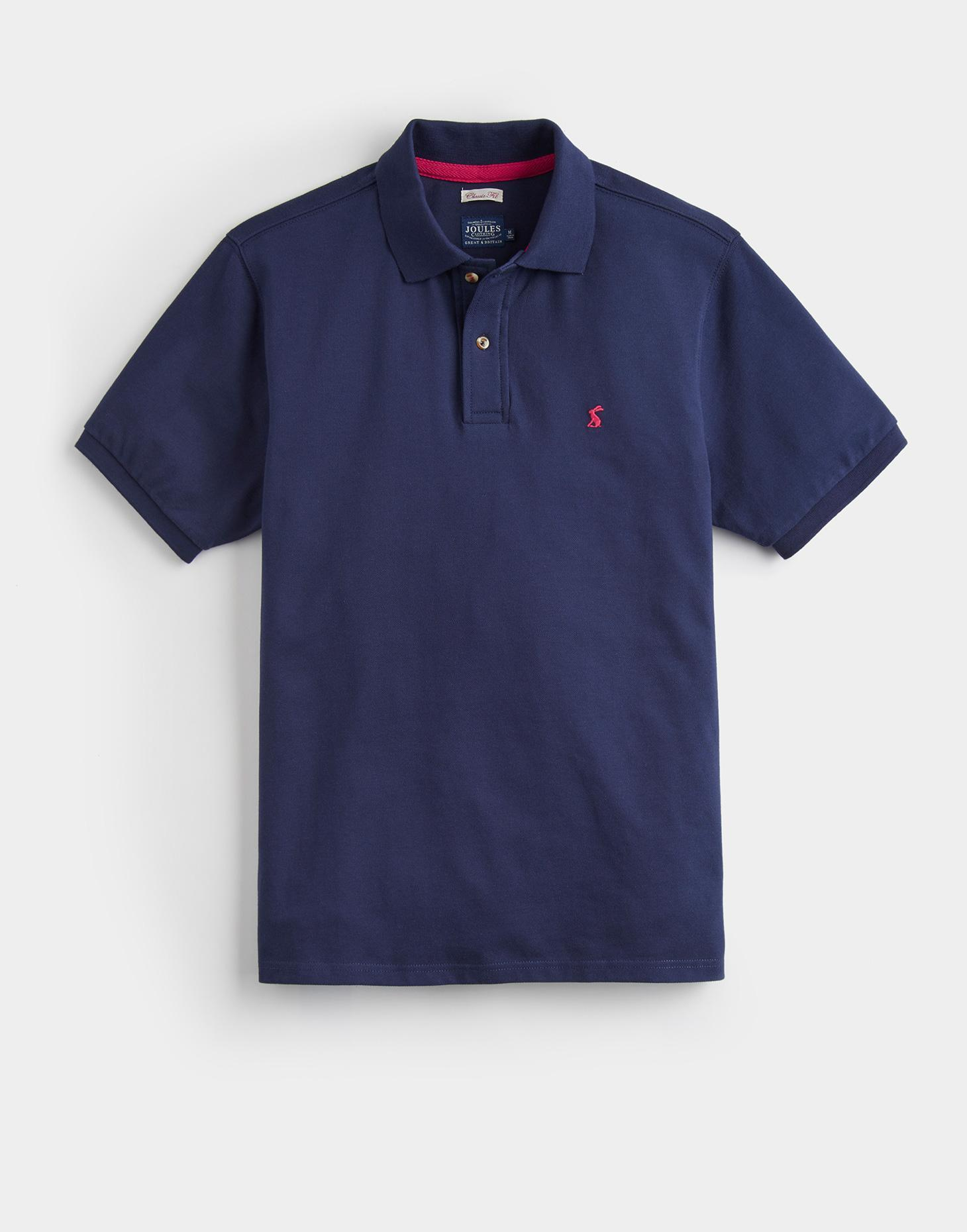 Joules French Navy WOODY CLASSIC FIT Polo Shirt
