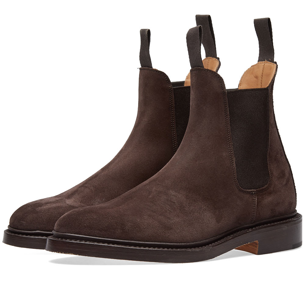Trickers Coffee Ox Reverse END. x Tricker's Gigio Chelsea Boot