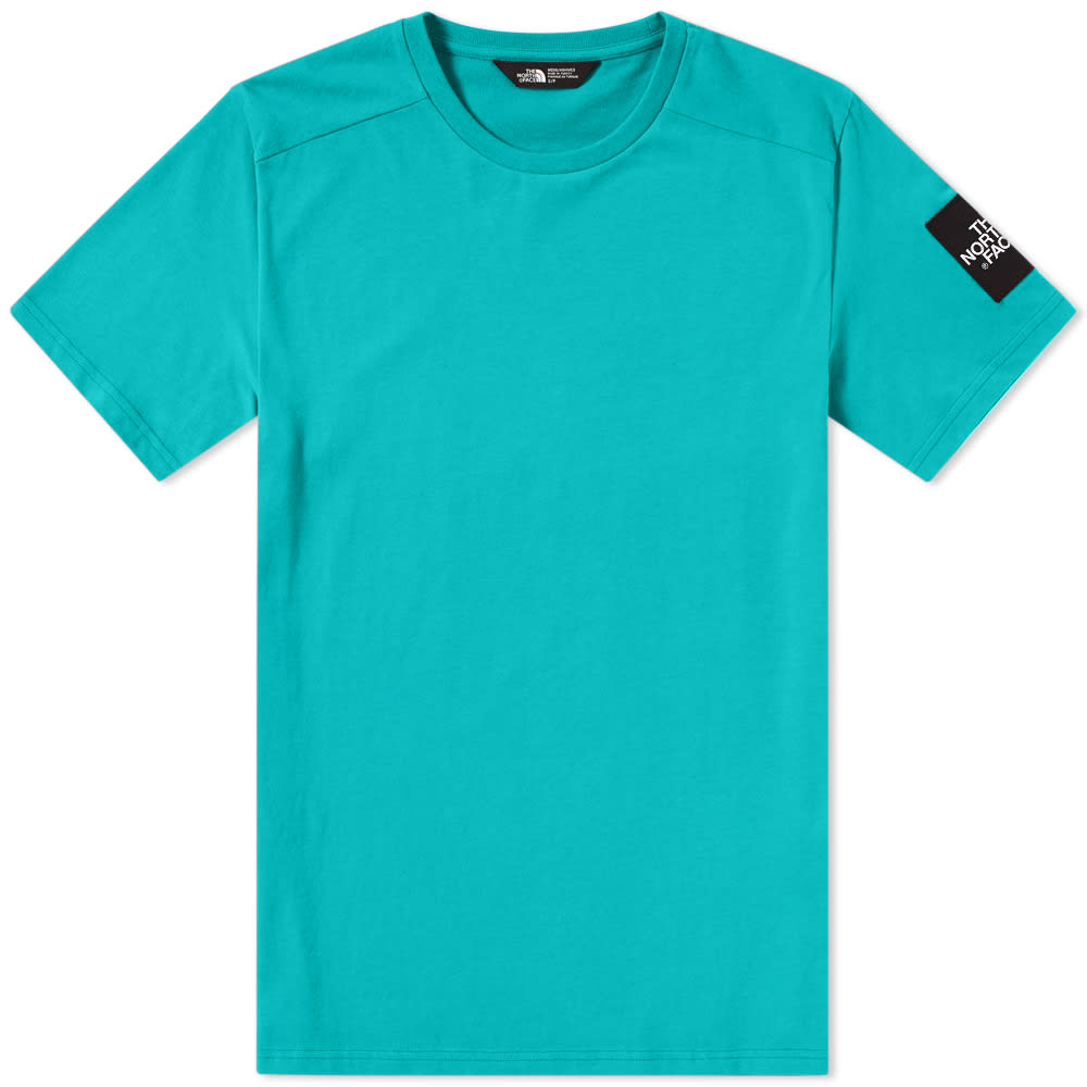 The North Face Porcelain Green Fine 2 Tee