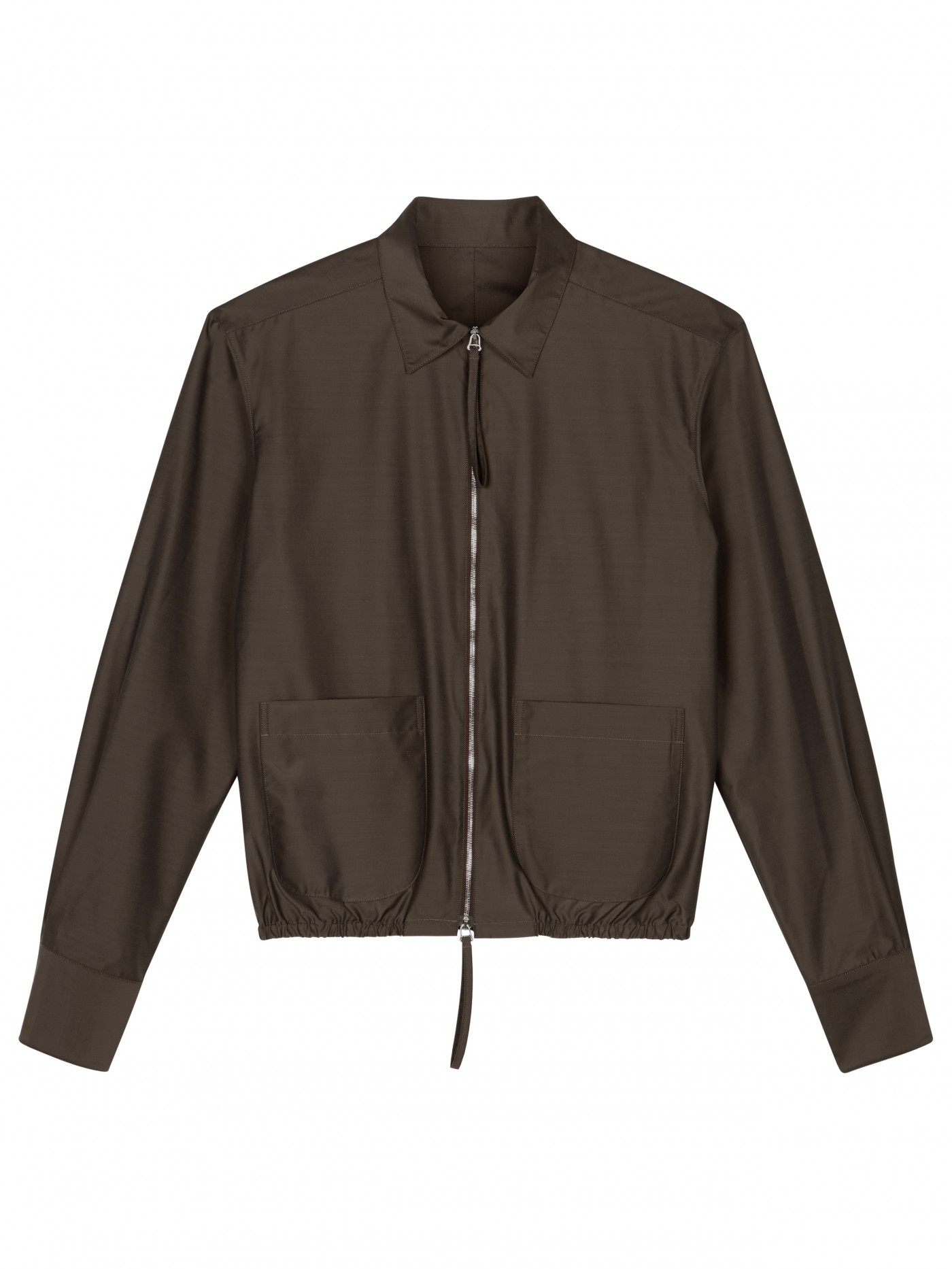 E. Tautz Brown Torquay Jacket