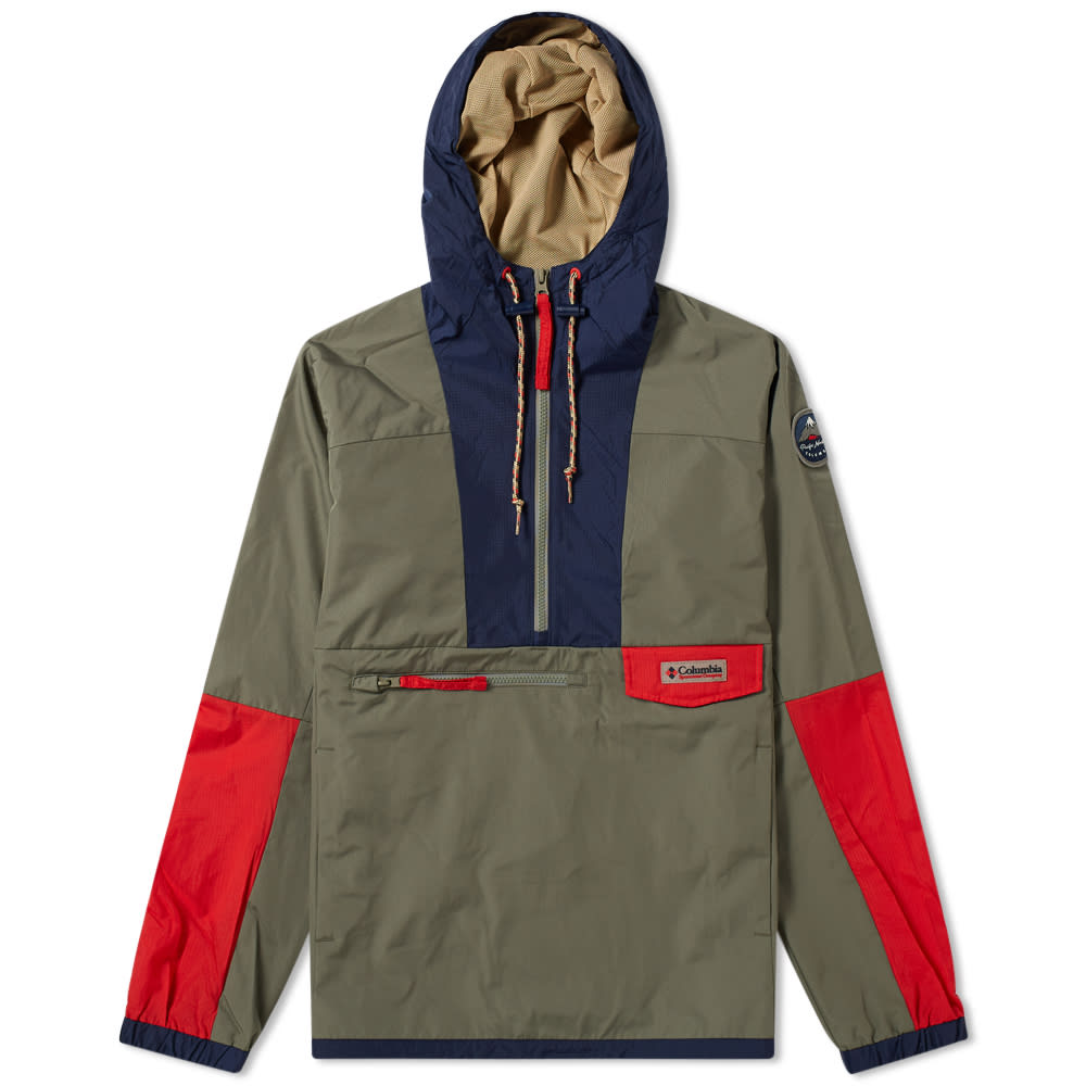 8d390e28af613 Hood River 1991 Pullover Jacket by Columbia — Thread