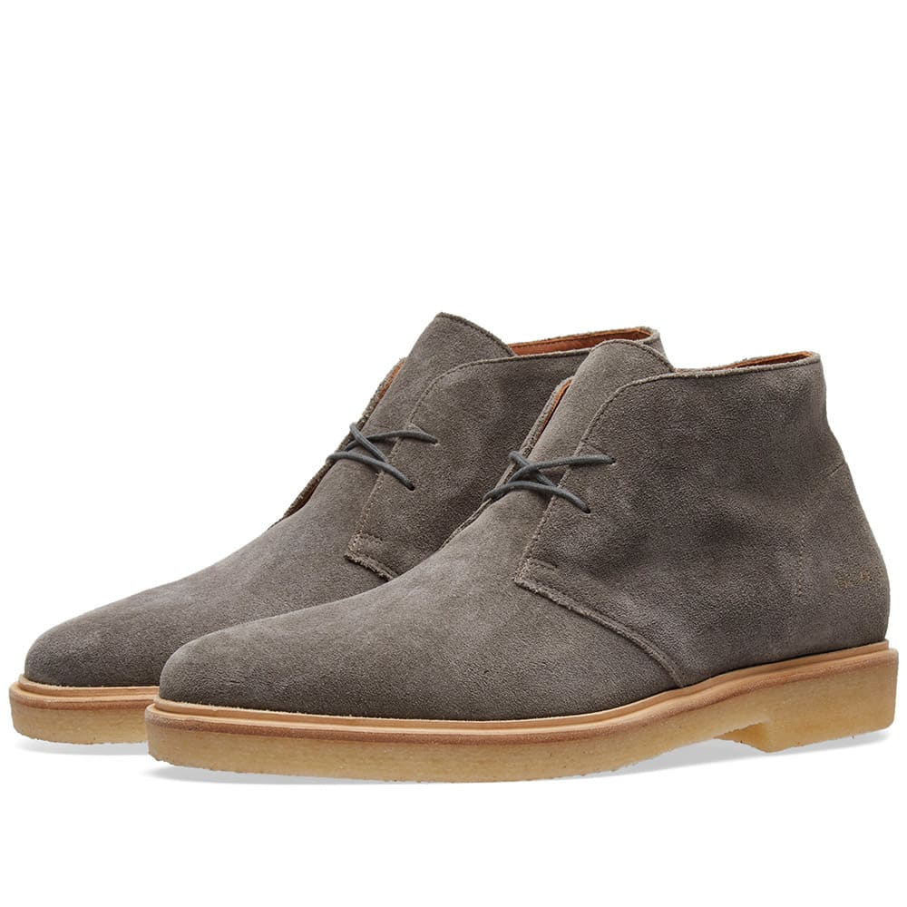 Chukka Waxed Suede by Common Projects