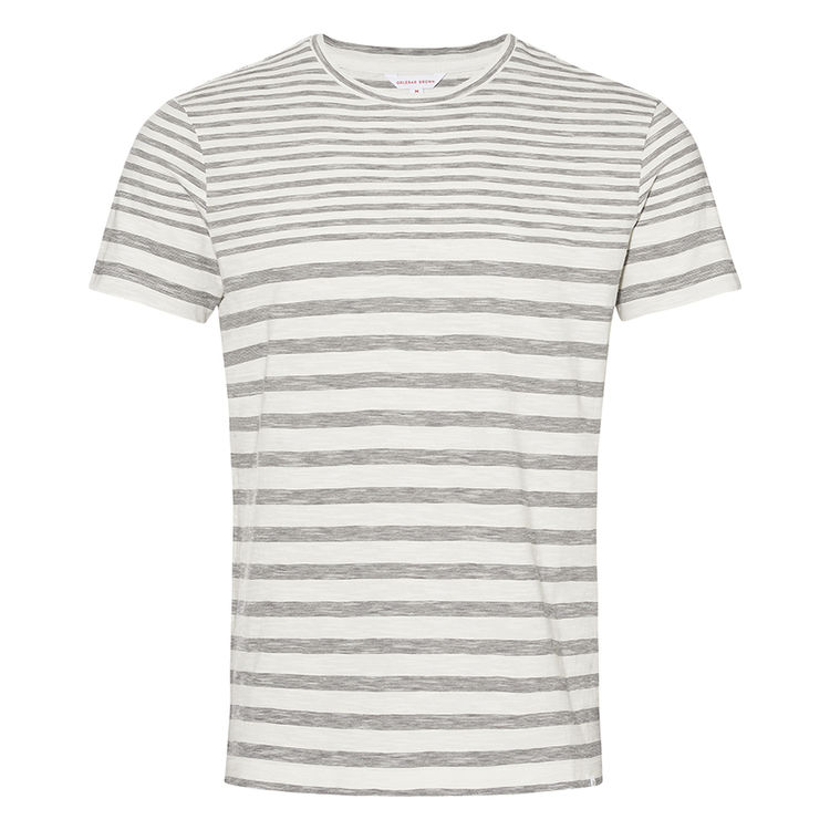 Orlebar Brown SAMMY Cloud/Fossil Cotton Classic-Fit T-Shirt