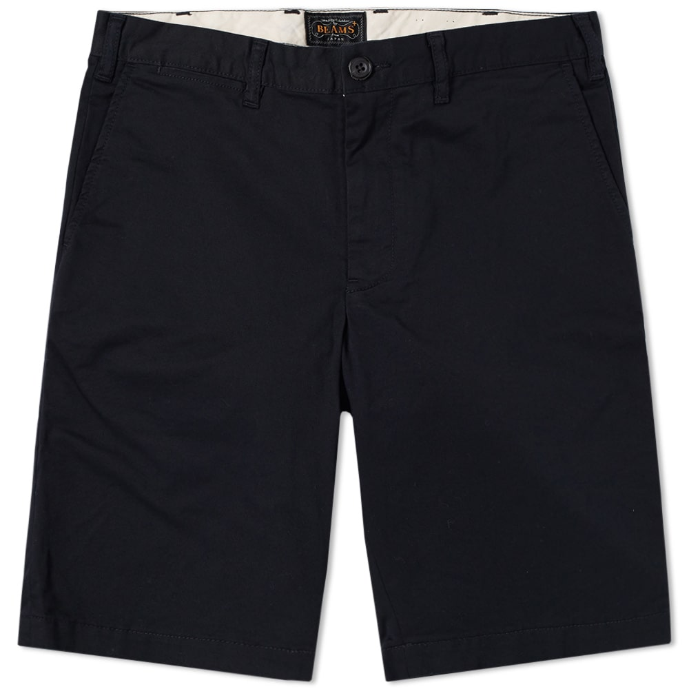 Beams Plus Navy Ivy Chino Shorts