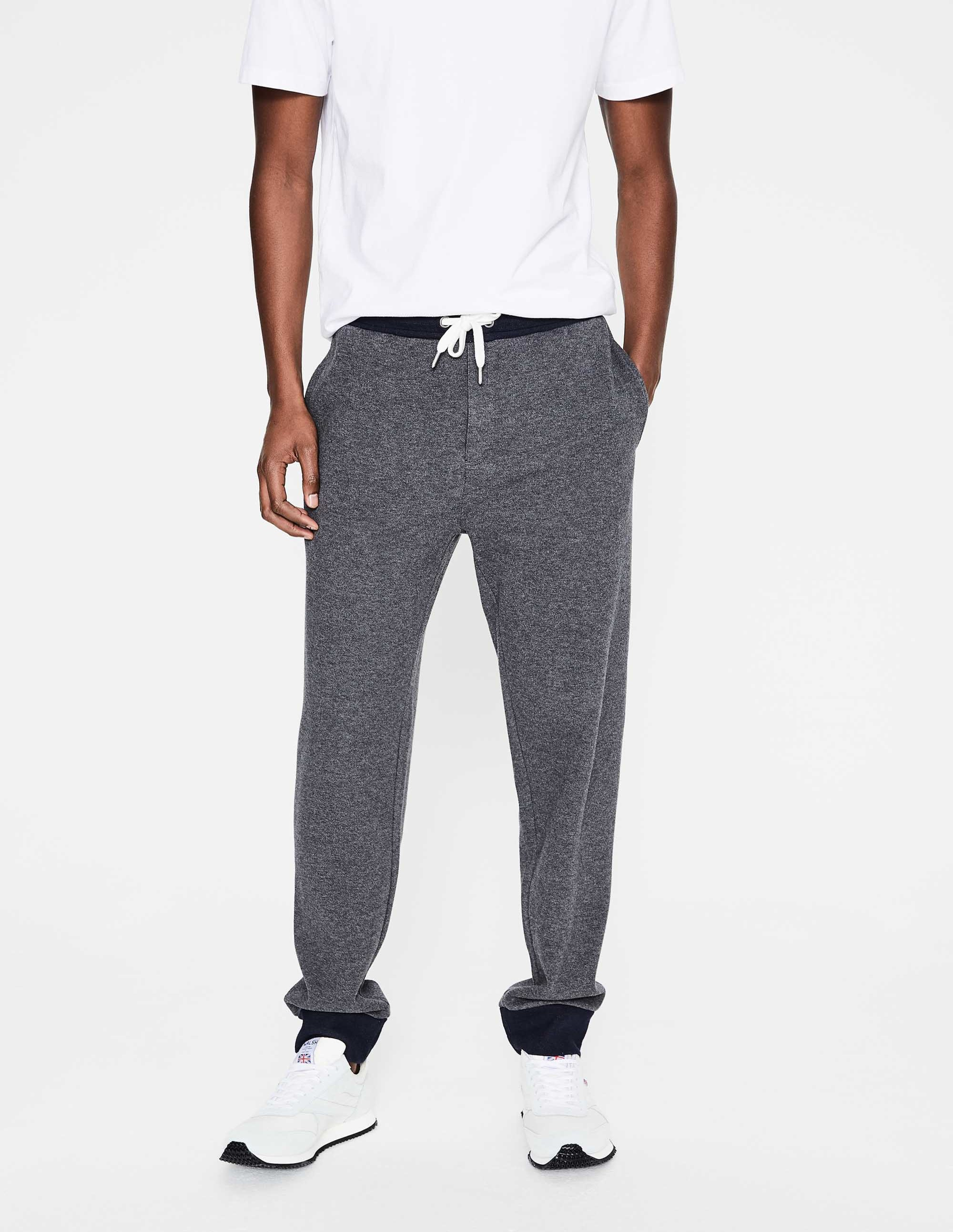 Boden Charcoal Marl Chesterton Joggers