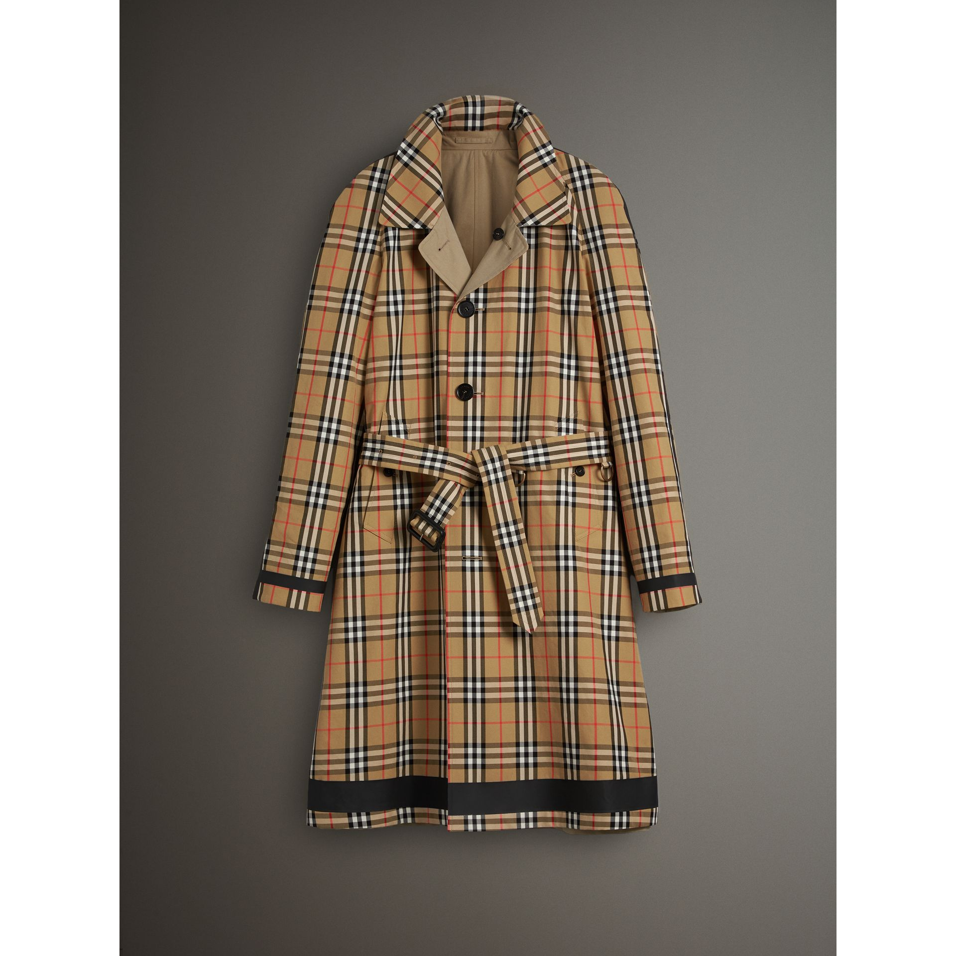 Details about Mens Reversible BURBERRY Trench Coat