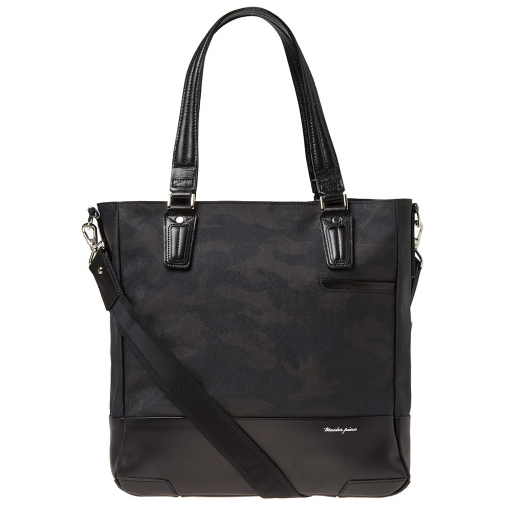 Master-Piece Black Gloss Camouflage Version 2 Tote Bag