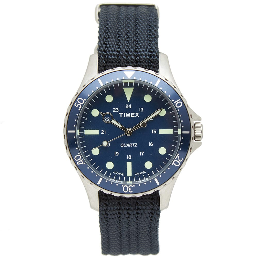 Timex Archive Steel Blue Navi Harbour Watch