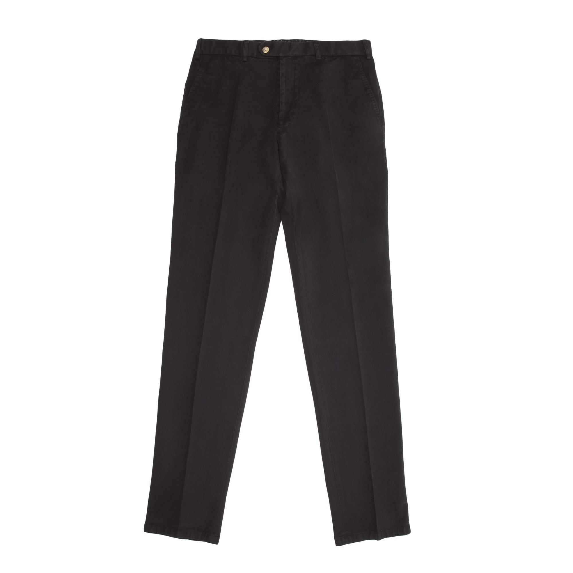 Timothy Everest Black Washed Programme Cotton Trousers