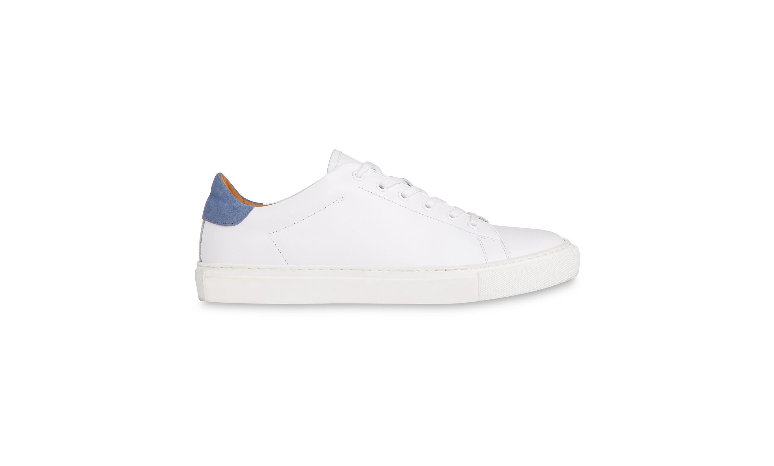 Whistles Blue/Multi Low top leather trainers