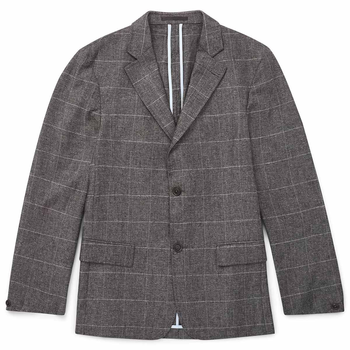 Oliver Sweeney Simpson Pale Grey - Lightweigt Silk/Linen Blazer