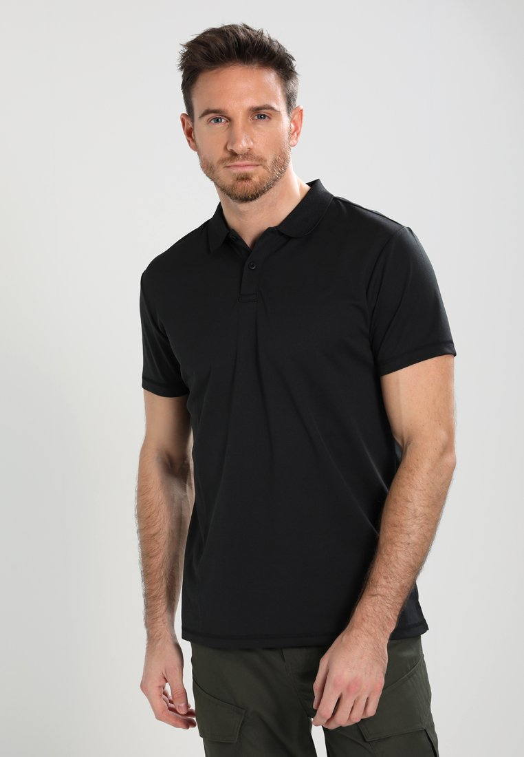 Your Turn Active black Polo shirt