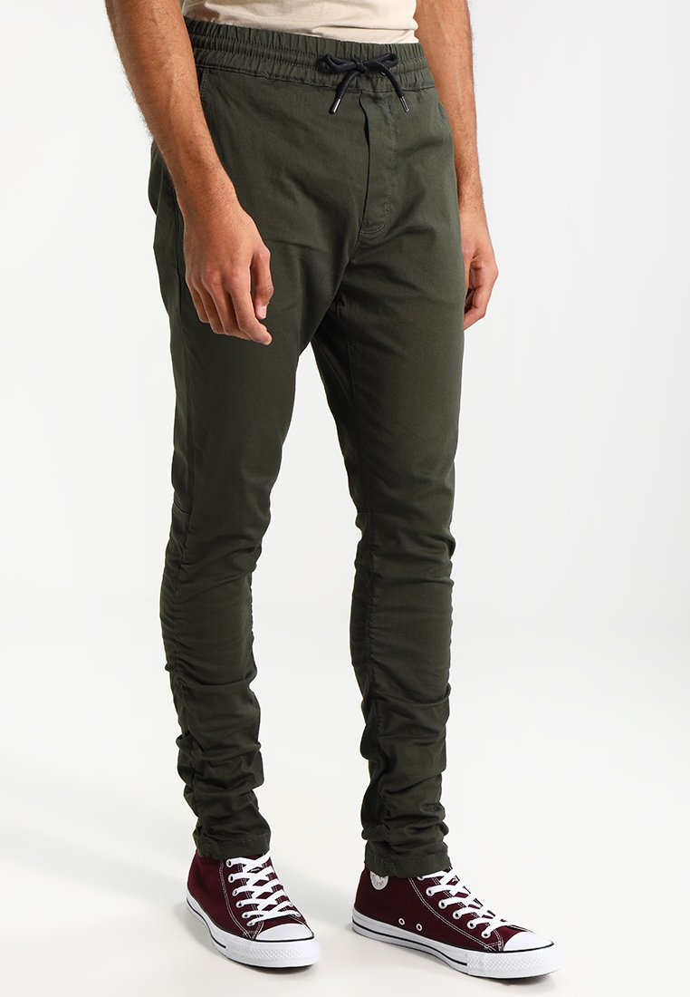 YOUR TURN dark green Trousers