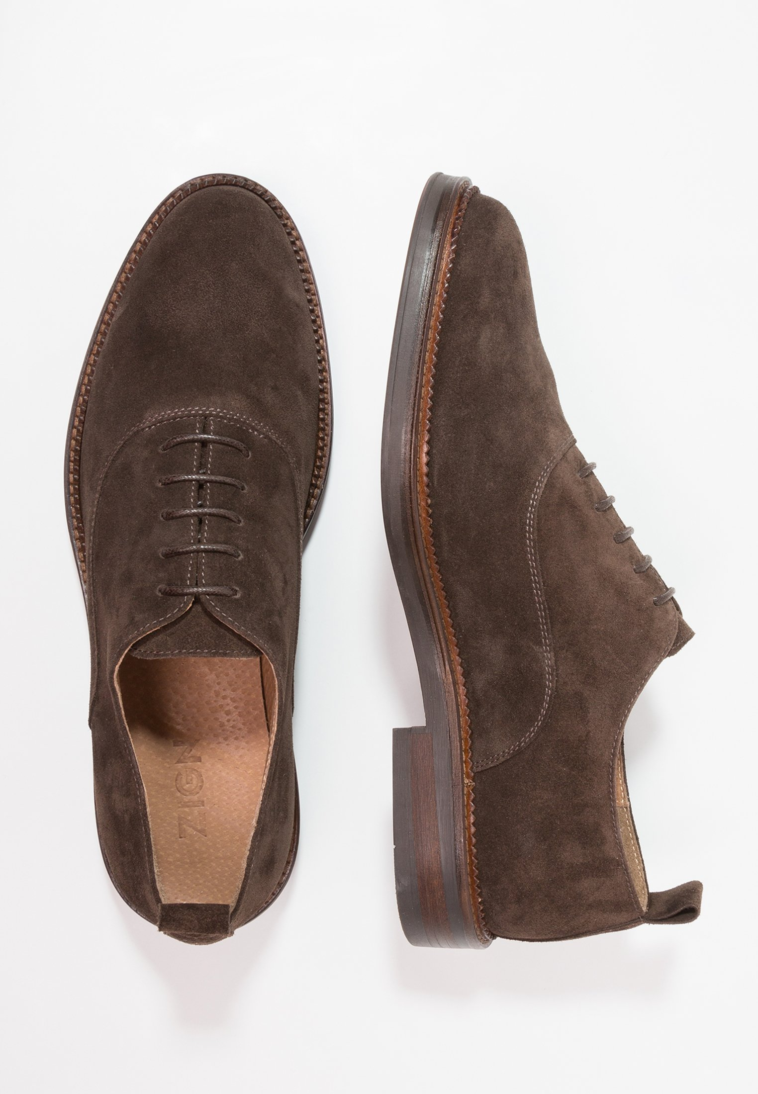 Zign brown Lace-ups