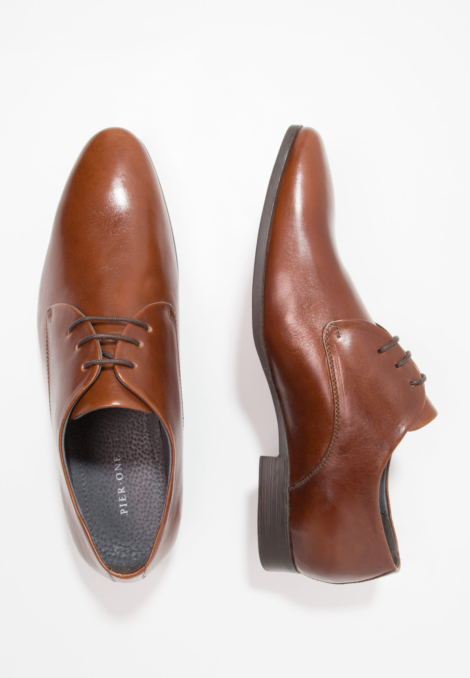 Pier One cognac Smart lace-ups