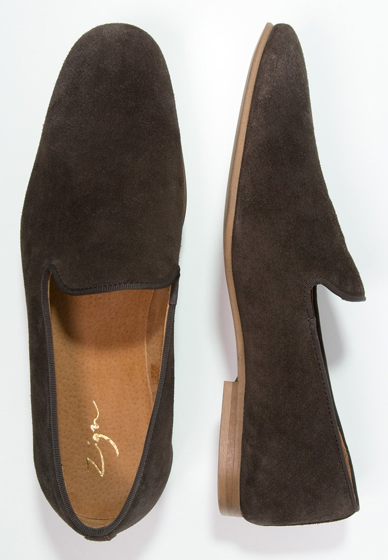 Zign brown Smart slip-ons