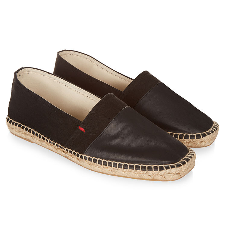 Orlebar Brown SUTTON Black Espadrille