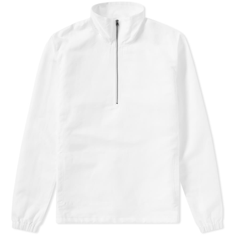 Saturdays NYC White Caleb Pullover Jacket