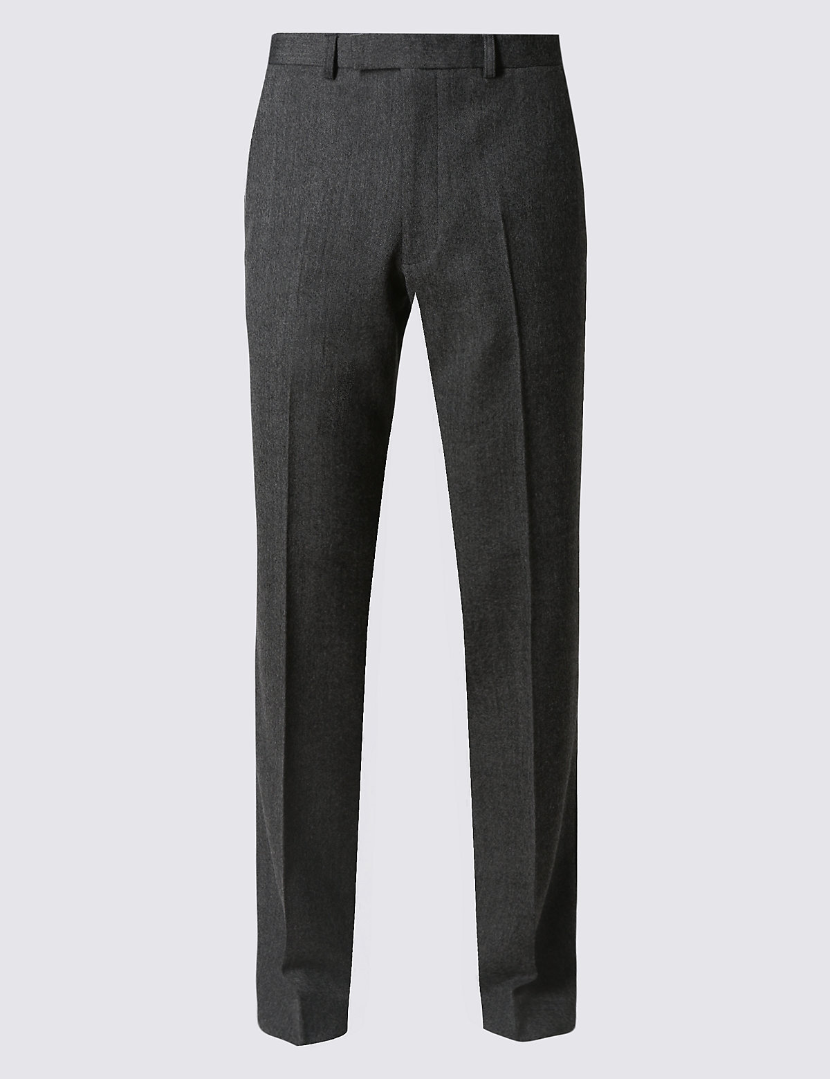 Marks & Spencer Big & Tall Grey Tailored Fit Trousers