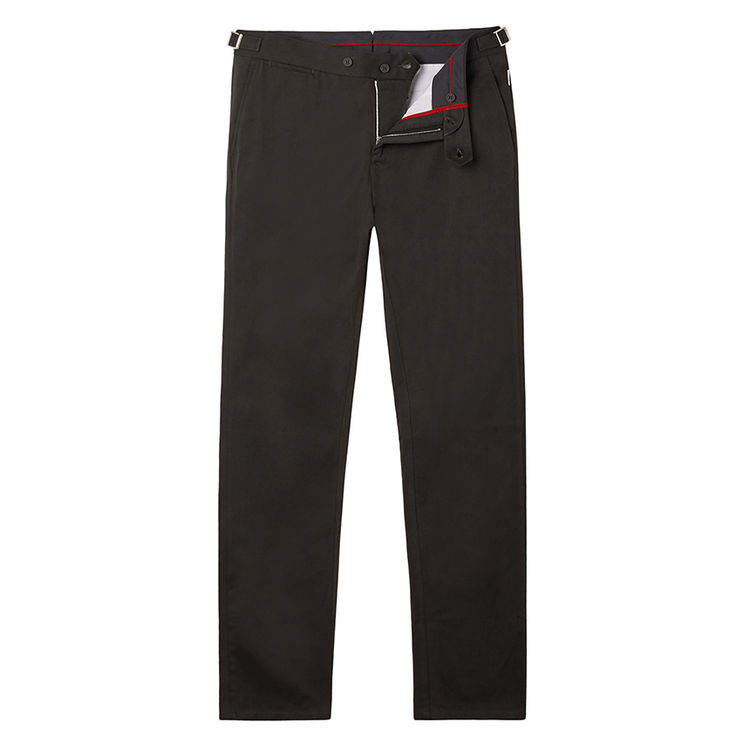 Orlebar Brown GRIFFON Anthracite Tailored Fit Trousers