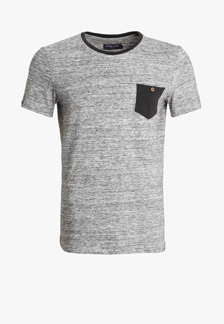 Pier One mottled grey Print T-shirt