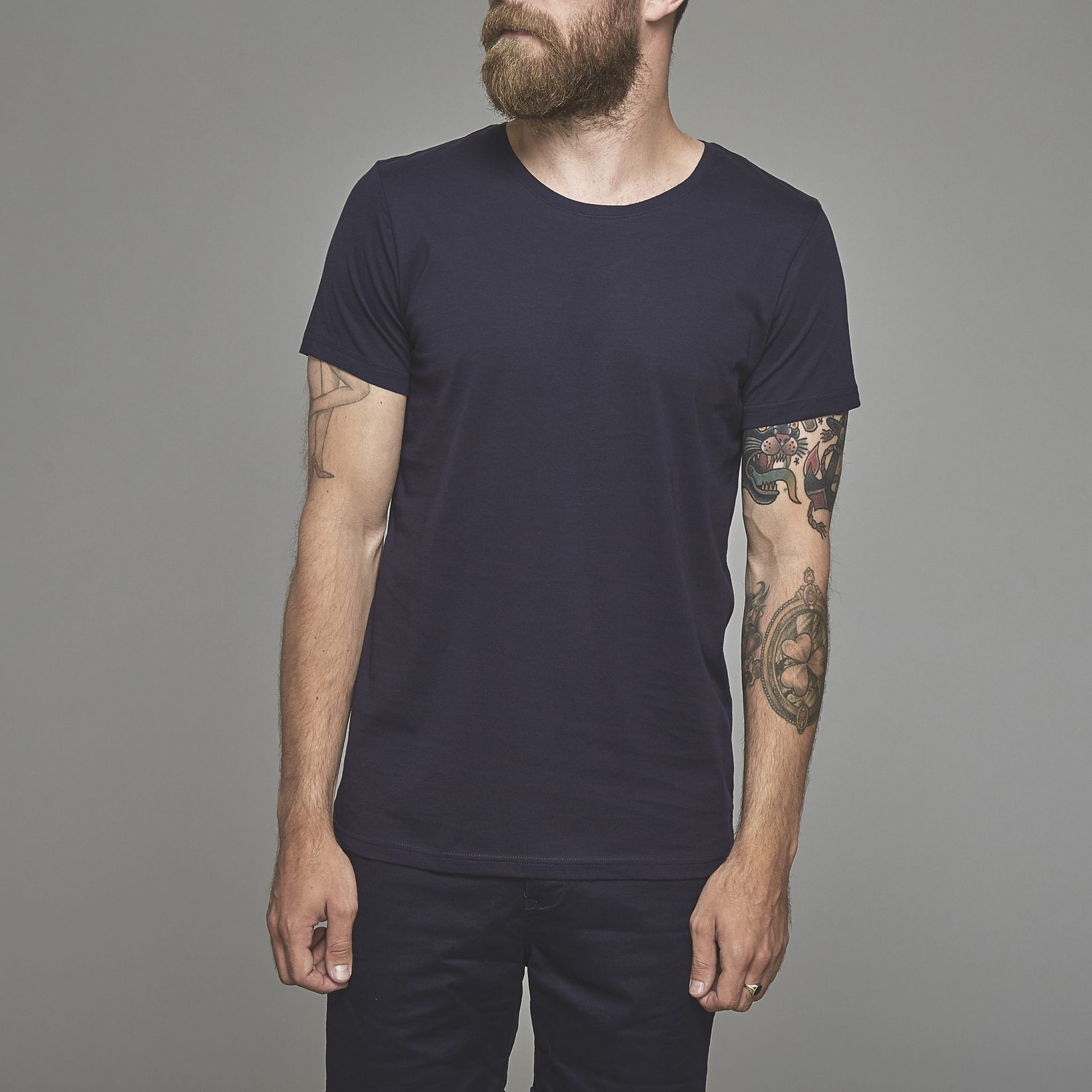 Suit Navy Anton T-shirt