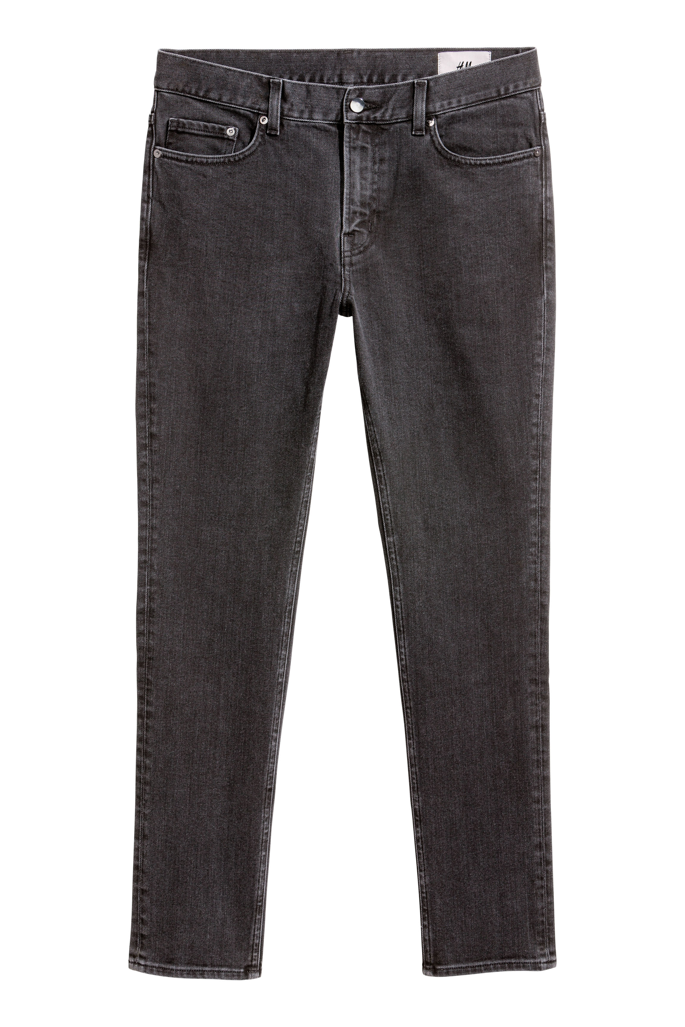 H&M Edition Black/Washed Skinny jeans