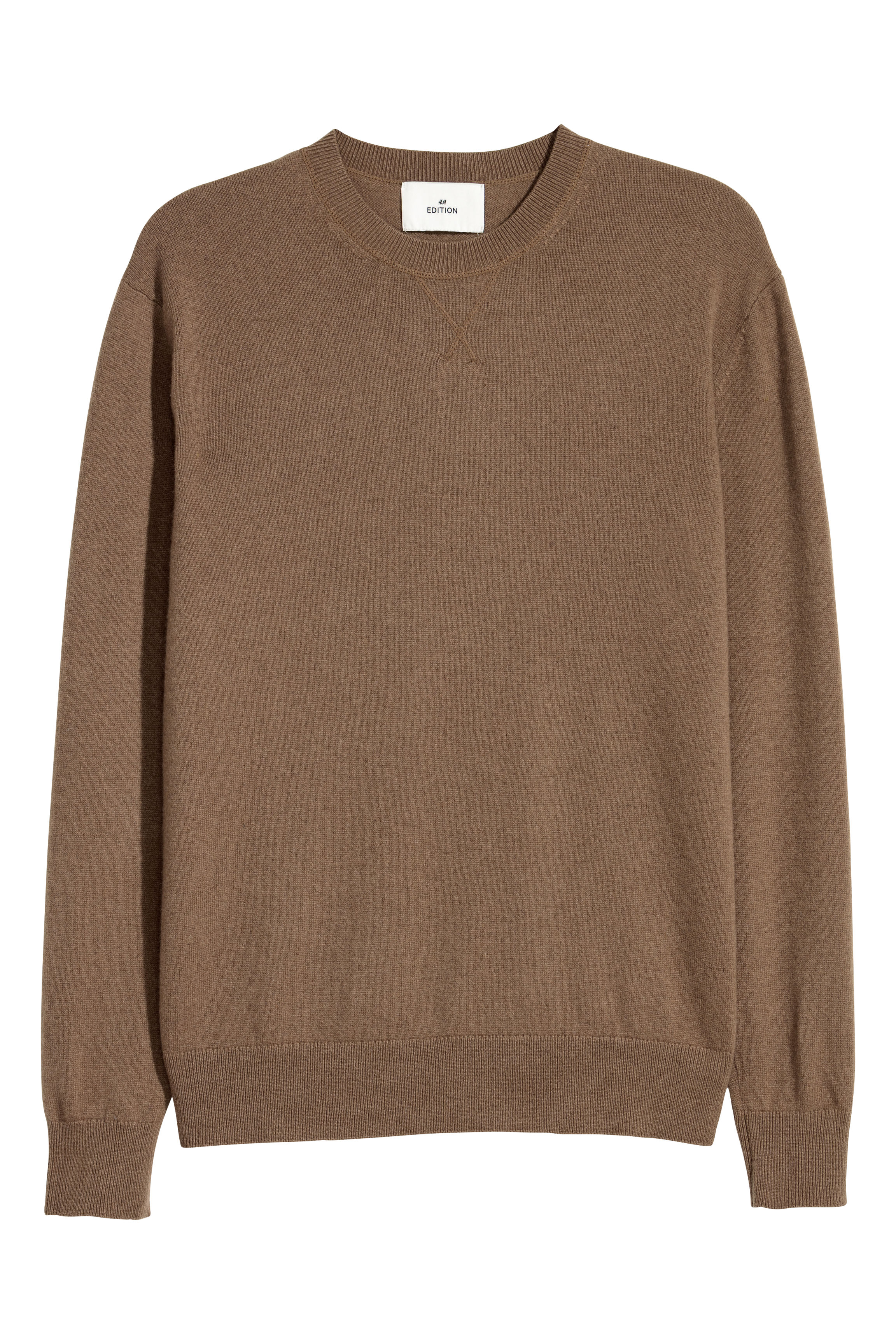H&M Edition Brown Cashmere jumper