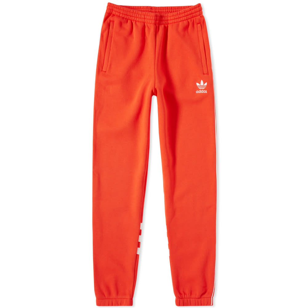 Adidas Hi-Res Red Authentic Sweat Track Pant