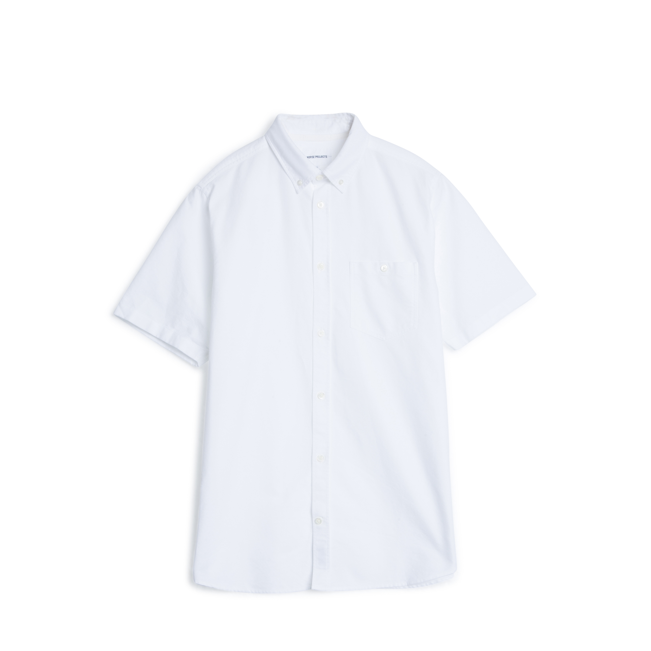 Norse Projects White 001 Anton Oxford Shirt