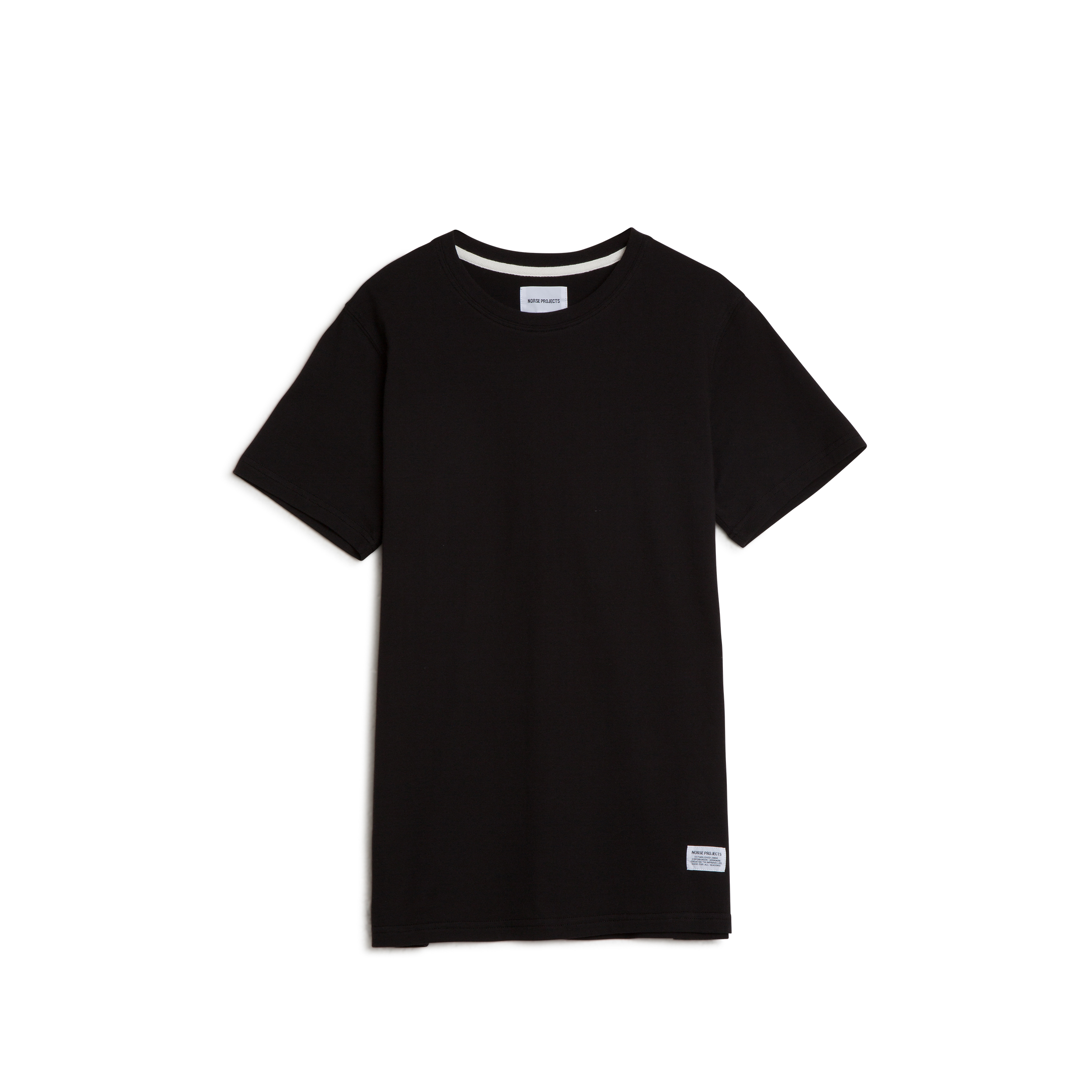 Norse Projects Niels Basic SS - Black