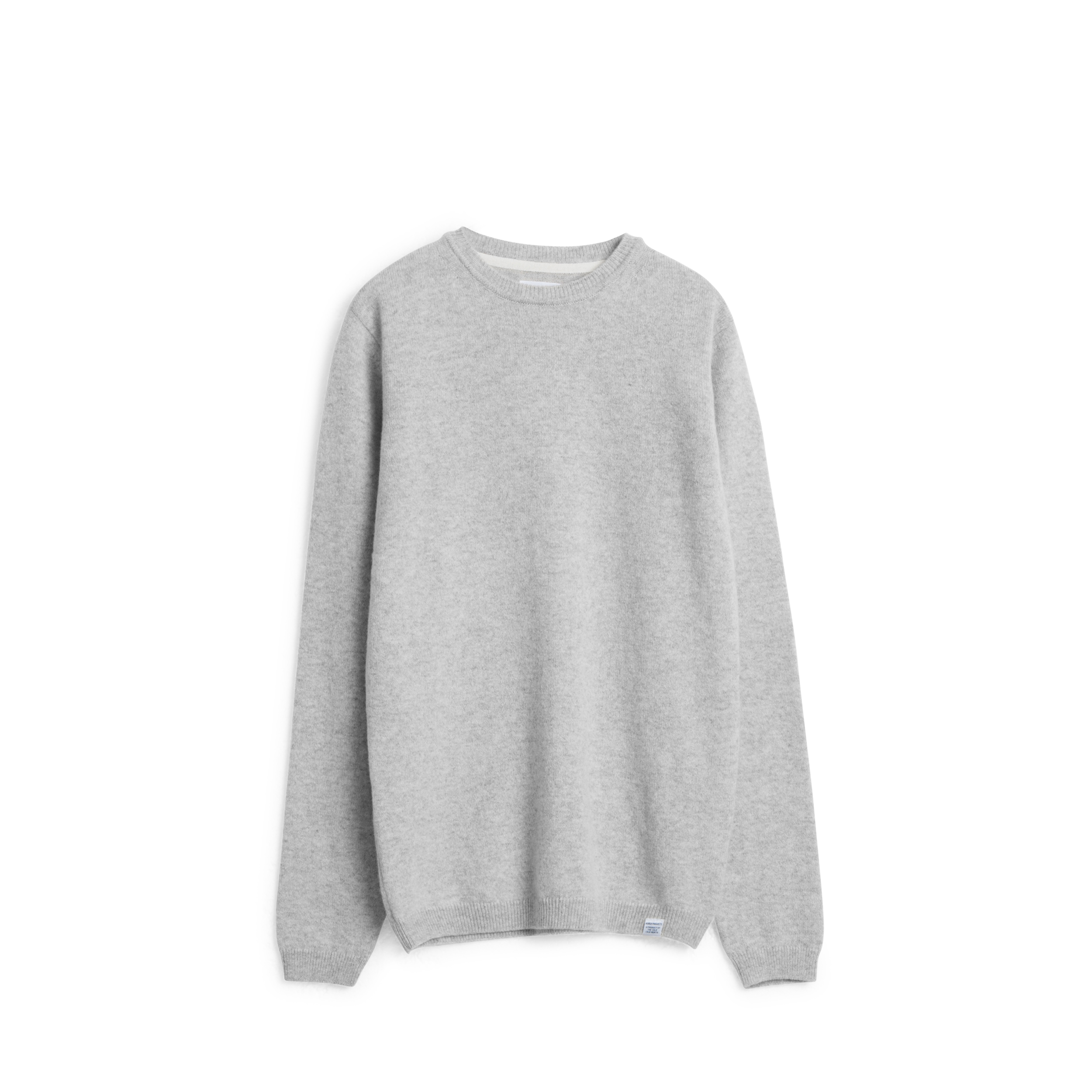 Norse Projects Light Grey Melange Sigfred Lambswool Sweatshirt