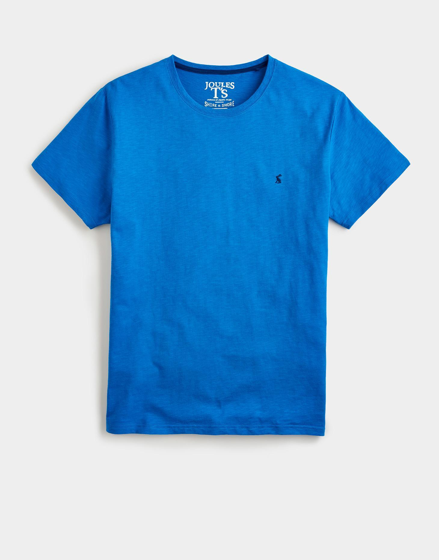 Joules French Blue PLAIN Jersey T-Shirt