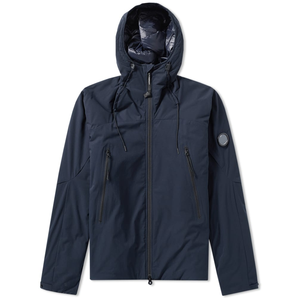 C.P. COMPANY Navy Protek Padded Shell Hooded Jacket