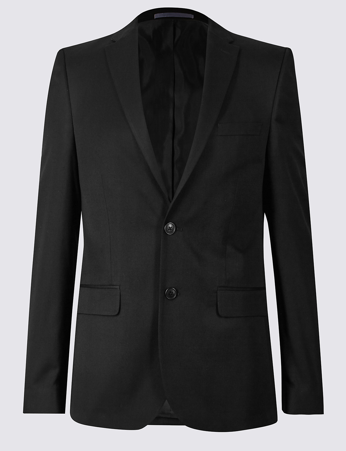 Marks & Spencer Black Modern Slim Fit Jacket
