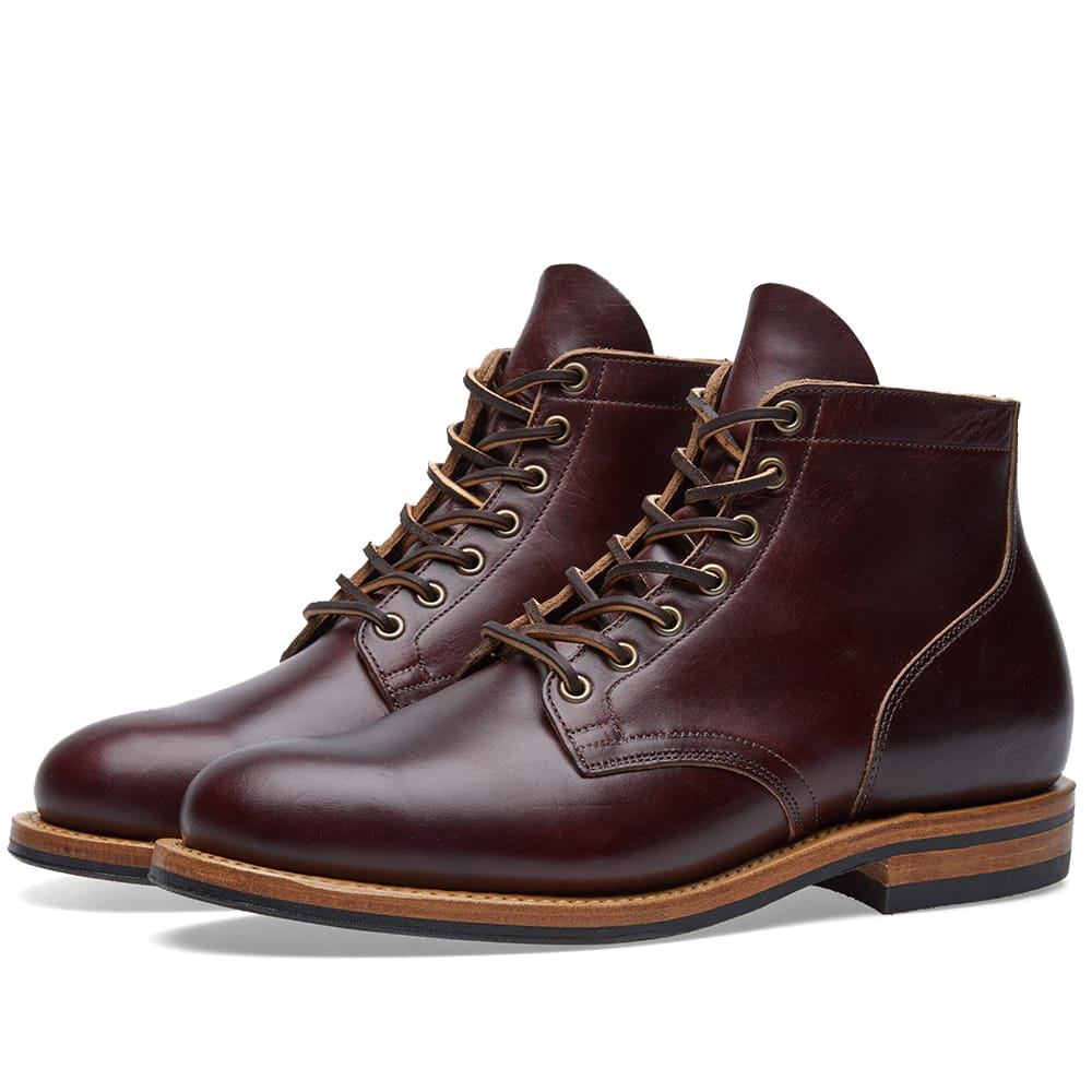 Viberg Colour 8 Chromexcel Plain Toe Service Boot