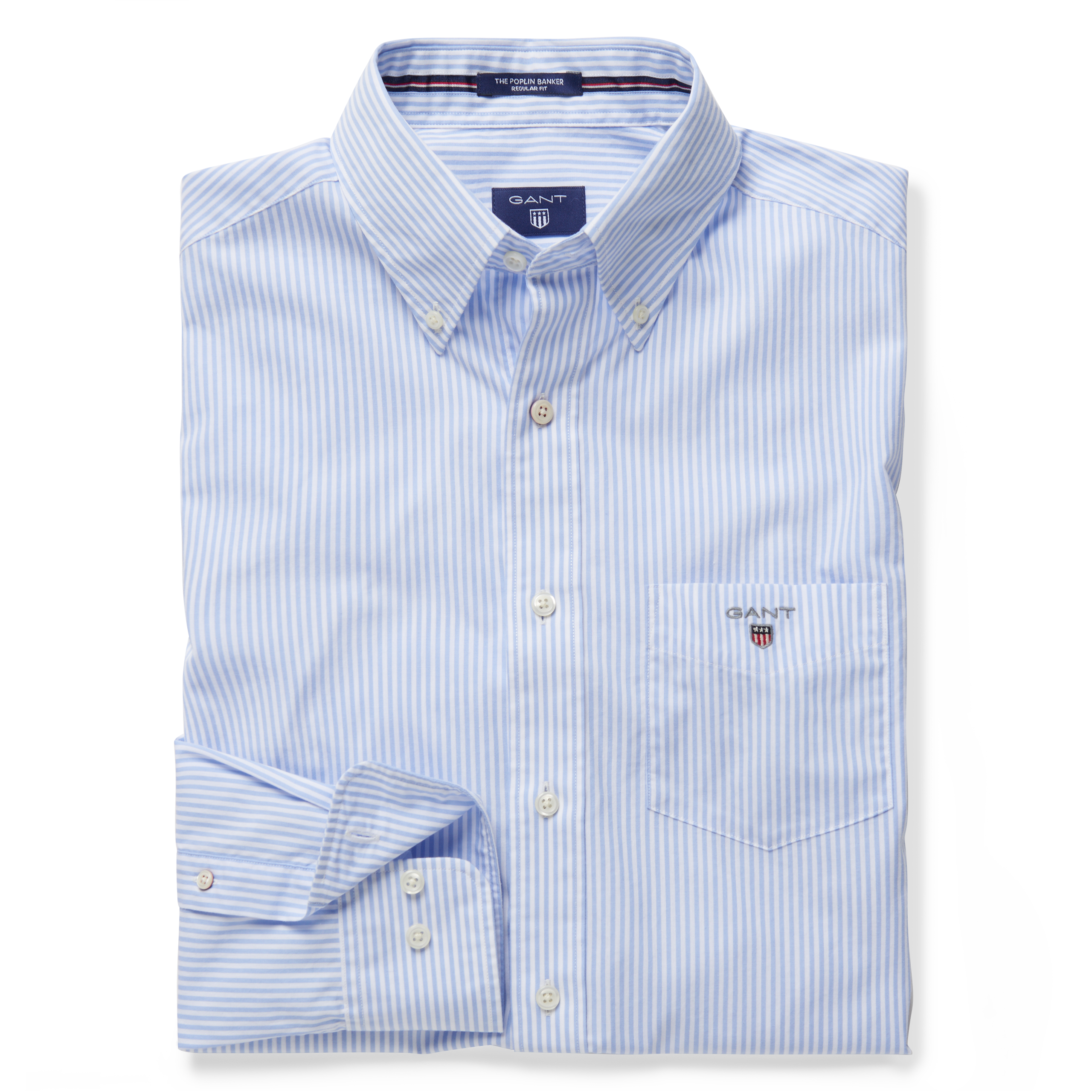 Gant Hamptons Blue The Broadcloth Banker Reg Bd