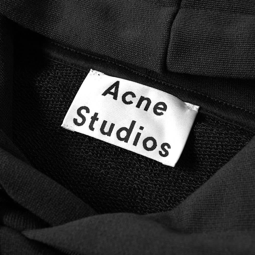 Acne Black Fellis Popover Hoody