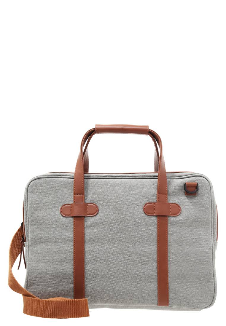 YOURTURN grey Laptop bag
