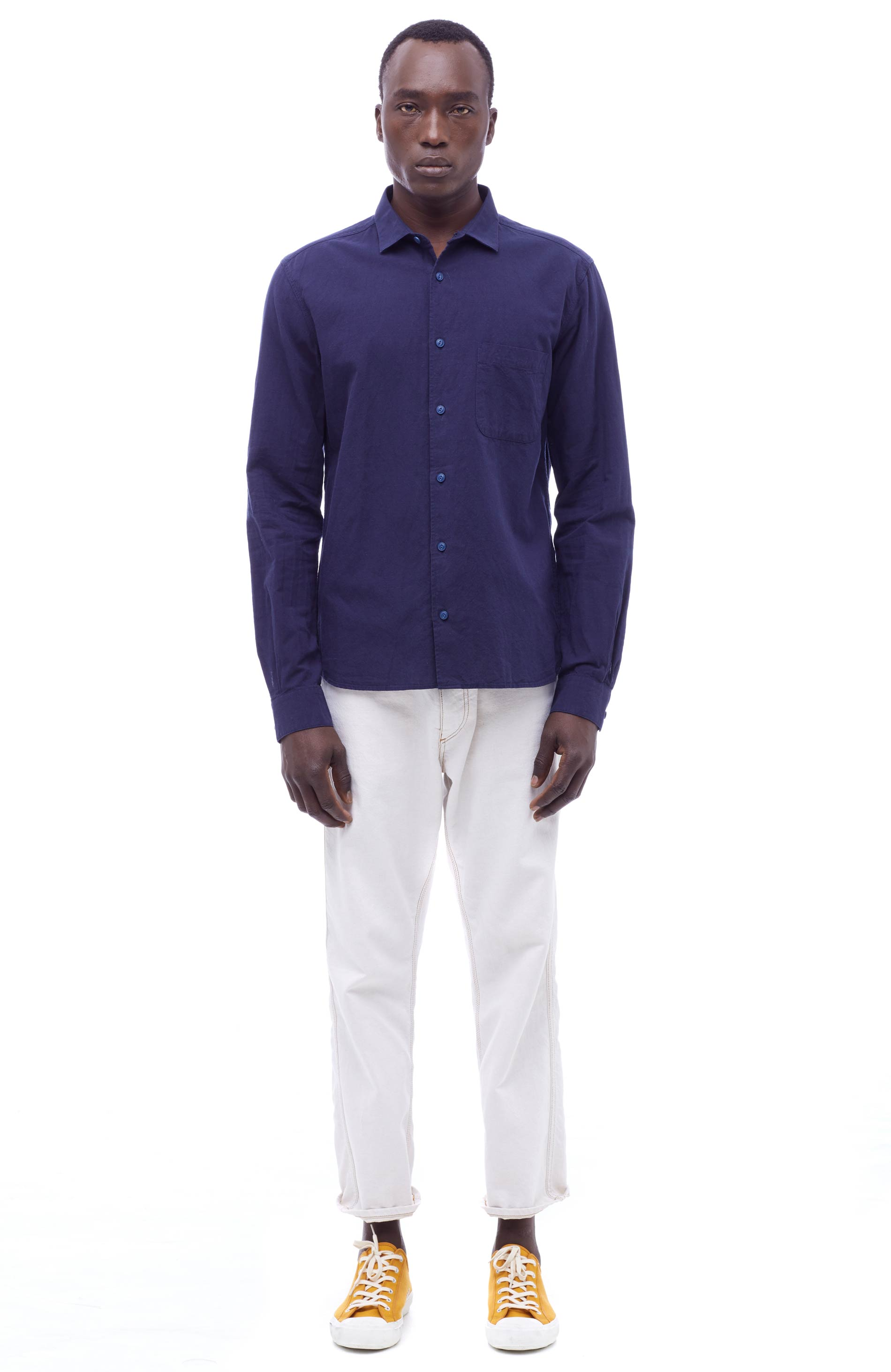 YMC Curtis Shirt (navy)