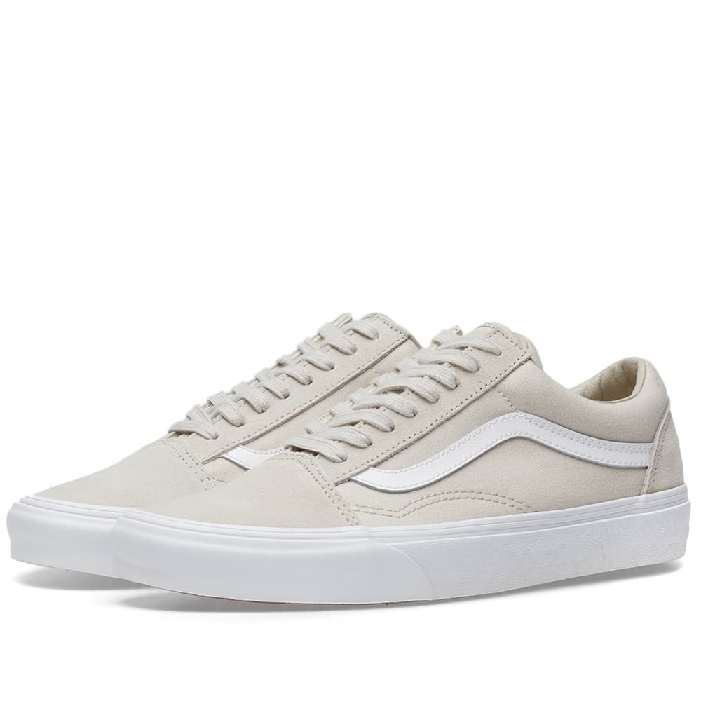 Vans Silver Lining & True White Old Skool