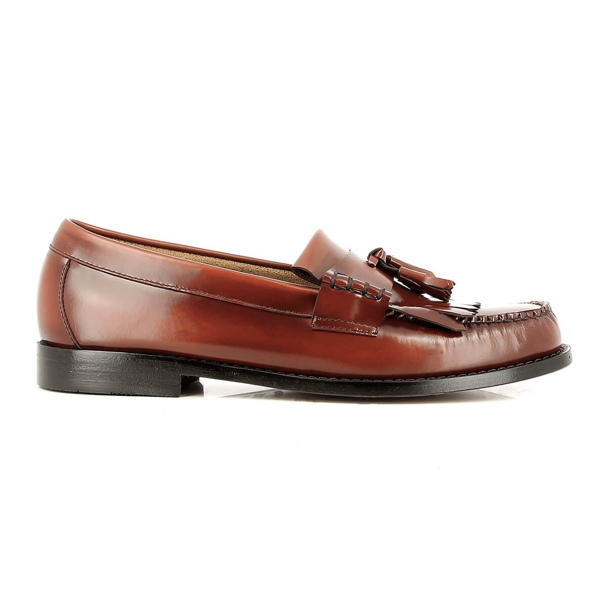 G.H. Bass & Co. Weejuns Layton Kiltie Moc II Mid Brown Leather