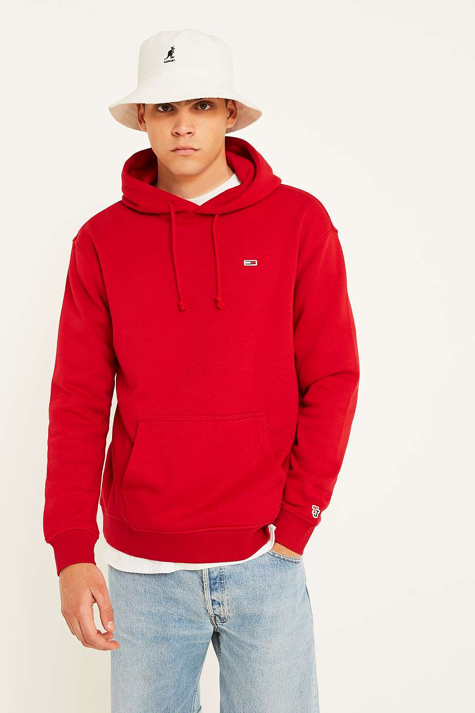 Tommy Jeans Classic Red Hoodie