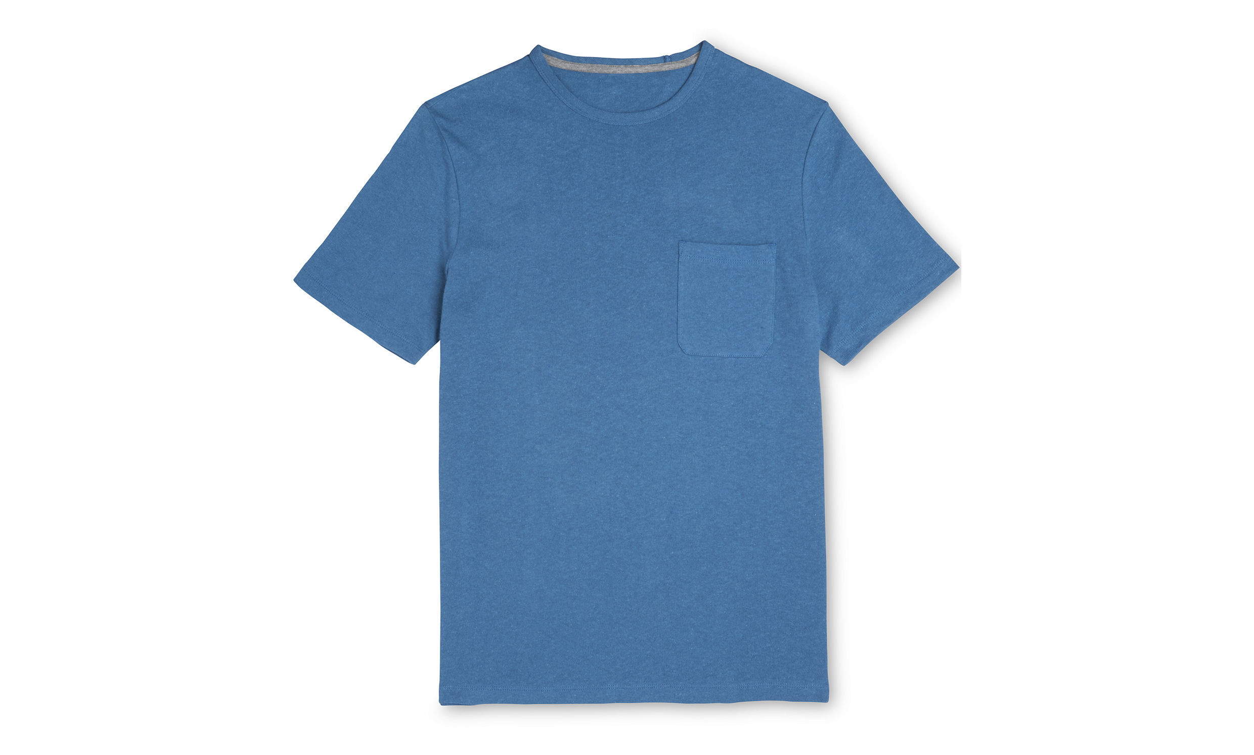 Whistles Blue Crumple everyday t-shirt