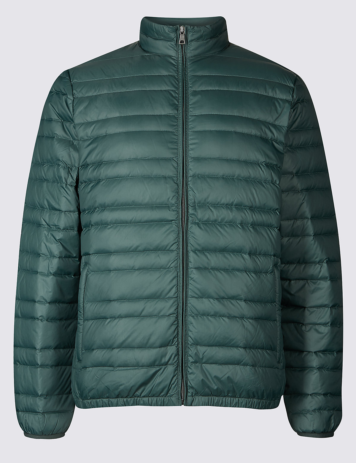 Marks & Spencer Green Down & Feather Jacket with Stormwear™
